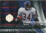 2008 Upper Deck Icons NFL Chronology Jersey Silver #CHR8 Walter Payton /150
