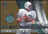 2008 Upper Deck Icons NFL Chronology Jersey Gold #CHR10 Dan Marino /50