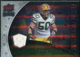 2008 Upper Deck Icons Future Foundations Jersey Silver #FF1 A.J. Hawk /199