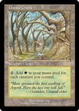 Magic the Gathering Urza's Saga Single Gaea's Cradle UNPLAYED (NM/MT)