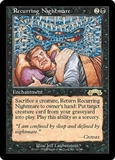 Magic the Gathering Exodus Single Recurring Nightmare - NEAR MINT (NM)