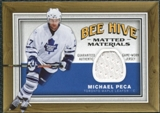 2006/07 Upper Deck Beehive Matted Materials #MMMP Michael Peca