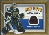 2006/07 Upper Deck Beehive Matted Materials #MMMT Marty Turco