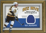 2006/07 Upper Deck Beehive Matted Materials #MMRB Ray Bourque