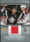 2006/07 Upper Deck Trilogy Honorary Swatches #HSCD Chris Drury