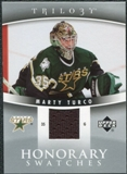2006/07 Upper Deck Trilogy Honorary Swatches #HSMT Marty Turco