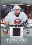 2006/07 Upper Deck Trilogy Honorary Swatches #HSSA Miroslav Satan
