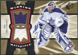 2006/07 Upper Deck SPx Winning Materials #WMEB Ed Belfour
