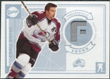 2002/03 Upper Deck Vintage Jerseys #SOCD Chris Drury