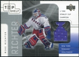 2001/02 Upper Deck UD Top Shelf Jerseys #MR Mike Richter Stanley Cup