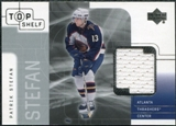 2001/02 Upper Deck UD Top Shelf Jerseys #PS Patrik Stefan