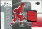 2001/02 Upper Deck UD Top Shelf Jerseys #TJBS Brendan Shanahan Upd