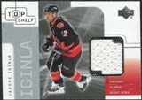 2001/02 Upper Deck UD Top Shelf Jerseys #TJJI Jarome Iginla Update