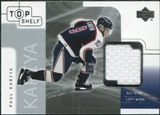 2001/02 Upper Deck UD Top Shelf Jerseys #TJPK Paul Kariya Update