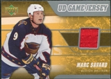 2006/07 Upper Deck Game Jerseys #JMS Marc Savard