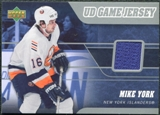 2006/07 Upper Deck Game Jerseys #J2MY Mike York