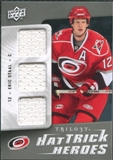 2009/10 Upper Deck Trilogy Hat Trick Heroes #HTHES Eric Staal