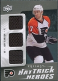 2009/10 Upper Deck Trilogy Hat Trick Heroes #HTHJC Jeff Carter