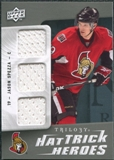 2009/10 Upper Deck Trilogy Hat Trick Heroes #HTHJS Jason Spezza