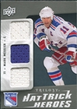 2009/10 Upper Deck Trilogy Hat Trick Heroes #HTHMM Mark Messier