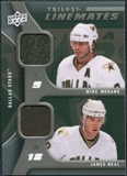 2009/10 Upper Deck Trilogy Line Mates #LMMN Mike Modano James Neal
