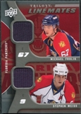 2009/10 Upper Deck Trilogy Line Mates #LMWF Michael Frolik Stephen Weiss
