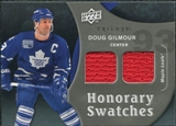 2009/10 Upper Deck Trilogy Honorary Swatches #HSDG Doug Gilmour