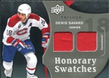 2009/10 Upper Deck Trilogy Honorary Swatches #HSDS Denis Savard
