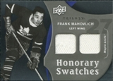 2009/10 Upper Deck Trilogy Honorary Swatches #HSFM Frank Mahovlich