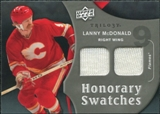 2009/10 Upper Deck Trilogy Honorary Swatches #HSLM Lanny McDonald