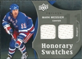 2009/10 Upper Deck Trilogy Honorary Swatches #HSMM Mark Messier