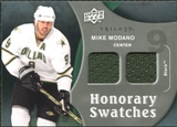 2009/10 Upper Deck Trilogy Honorary Swatches #HSMO Mike Modano