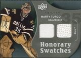 2009/10 Upper Deck Trilogy Honorary Swatches #HSMT Marty Turco