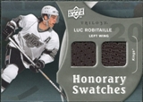 2009/10 Upper Deck Trilogy Honorary Swatches #HSRO Luc Robitaille