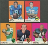 1969 Topps Football Partial Set (EX)