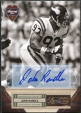 2011 Panini Timeless Treasures Autographs Gold #117 John Randle 10/25