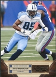 2011 Panini Timeless Treasures #75 Nate Washington /499