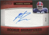 2011 Panini Timeless Treasures #185 Marcell Dareus RC Autograph /265