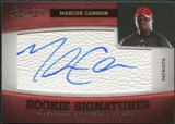 2011 Panini Timeless Treasures #186 Marcus Cannon RC Autograph /490