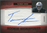 2011 Panini Timeless Treasures #214 Taiwan Jones RC Autograph /265