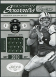 2011 Timeless Treasures Game Day Souvenirs 2nd Quarter #12 Mark Sanchez /200