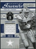 2011 Timeless Treasures Game Day Souvenirs 3rd Quarter #1 Felix Jones /190