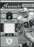 2011 Panini Timeless Treasures Game Day Souvenirs 3rd Quarter #22 Darren McFadden /190