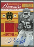 2011 Panini Timeless Treasures Game Day Souvenirs 3rd Quarter Autographs #21 Jamaal Charles 1/5
