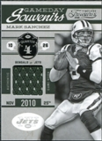 2011 Panini Timeless Treasures Game Day Souvenirs 4th Quarter #12 Mark Sanchez /200
