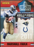 2011 Panini Timeless Treasures Hall of Fame #10 Marshall Faulk