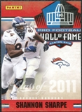 2011 Panini Timeless Treasures Hall of Fame #13 Shannon Sharpe