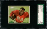 1950 Bowman Football #35 Joe Perry Rookie SGC 50 (VG/EX 4) *3007