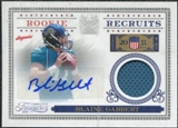 2011 Panini Timeless Treasures Rookie Recruits Materials Autograph #25 Blaine Gabbert /100