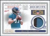 2011 Panini Timeless Treasures Rookie Recruits Materials Prime #25 Blaine Gabbert /25
